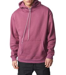 men's zanerobe lowgo oversize hooded sweatshirt