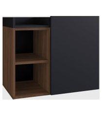 balcáo p/ banheiro benoni preto e estilare móveis