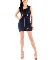 versace jeans couture d2hva426apw54 dress women indigo