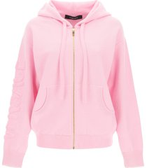 versace wool and cashmere hoodie
