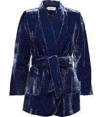 shirly blazer blazer colbert blauw by malina
