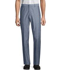 bonobos men's slim-fit chambray foundation pants - blue chambray - size 36