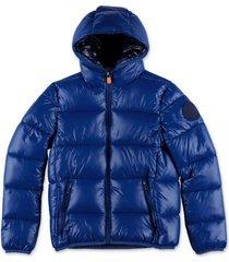 nylon down jacket with hood