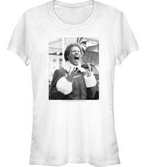 fifth sun elf screaming buddy portrait women's short sleeve t-shirt