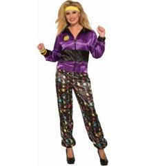 buyseasons women's track suit female adult costume