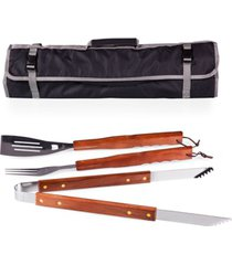 oniva by picnic time 3-piece bbq tote & grill set