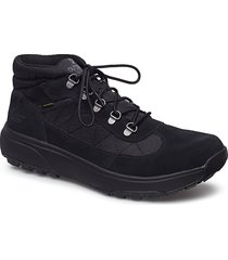 mens outdoor ultra - waterproof snörade stövlar svart skechers
