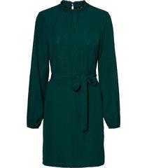 klänning vmboa l/s highneck short dress wvn