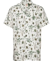 cubano shirt nephrite olive ni kortärmad skjorta vit levi´s men
