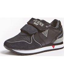 sneakersy z zamszowymi wstawkami model glorym (21-26)