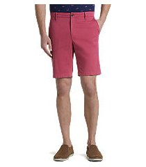 1905 collection tailored fit flat front shorts by jos. a. bank