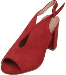 sandalia ivana rojo weide