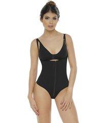 fajas mujer body senos libres/tanga body line control 1003 - negro