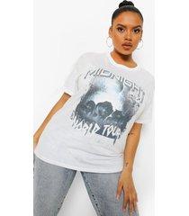 plus oversized midnight tour t-shirt, white