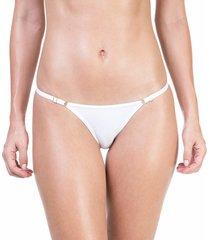 calcinha string com regulagem branco - 532.021 marcyn lingerie string branco
