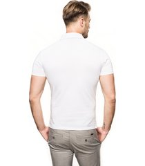 koszulka polo racket biały