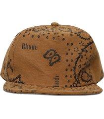 rhepurposed hat, tan