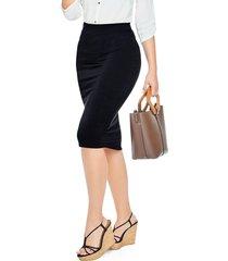 falda corta para mujer negro mp