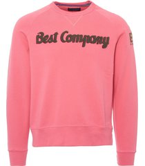 best company felpa girocollo sweatshirt - rose 692010-206