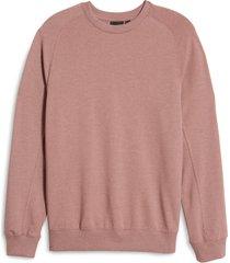 men's zella crewneck fleece sweatshirt