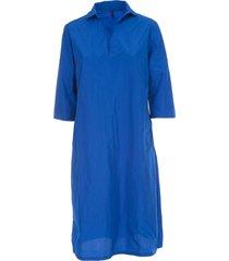 katharina hovman oversized dress 3/4s v neck