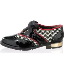 skor alba moda svart