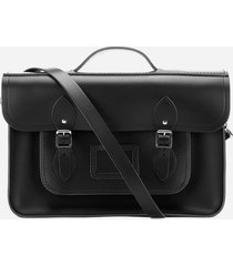 the cambridge satchel company women's 15  satchel - black