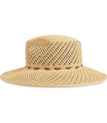 gucci woven wide-brim hat - neutrals