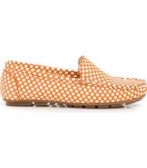 skórzane mokasyny zapato 001 dynia kwadraty