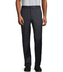 standard-fit wool trousers