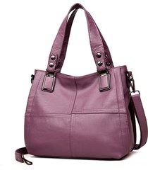 borsa a tracolla per donna in pelle soft pu patchwork borsa borsa a tracolla borsas