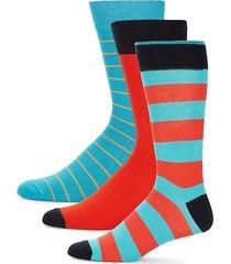 3-pack multicolor crew socks
