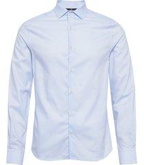dan ca-non-iron twill skjorta business blå j. lindeberg