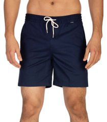 "hurley men's one & only stretch volley 17"" shorts"