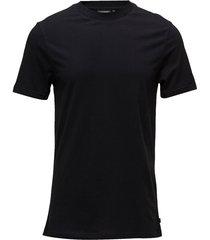 silo jersey tee t-shirts short-sleeved svart j. lindeberg