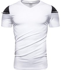 camiseta con cremallera