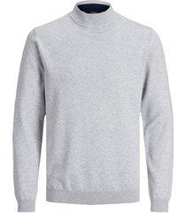 tröja jprblacamp knit high neck