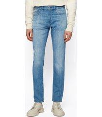 boss men's cashmere slim-fit jeans