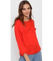 blusa roja nano colombia