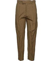 alta trouser byxa med raka ben brun hope