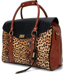 badgley mischka travel tote weekender bag