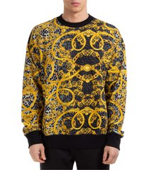 versace jeans couture leo chain sweatshirt