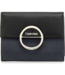 calvin klein mix black blue wallet