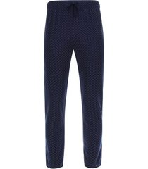 pantalon descanso cruces color azul, talla m