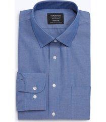 men's big & tall nordstrom men's shop smartcare(tm) traditional fit dress shirt, size 19.5 - 38/39 - blue