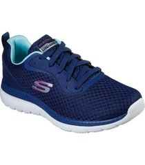 zapatilla bountiful azul marino skechers