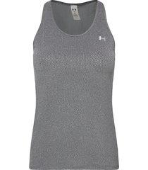 ua hg armour racer tank t-shirts & tops sleeveless grå under armour