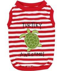parisian pet turtle tee dog t-shirt