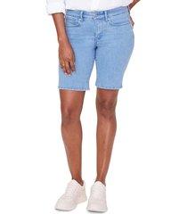 women's nydj ella denim shorts, size 18 (similar to 14w) - blue