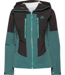 pallas warm hybrid w jacket outerwear sport jackets grön halti